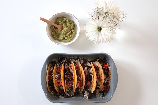 vegetarische taco schelpen