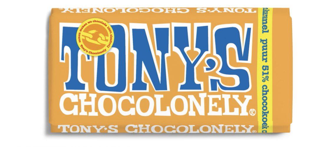 Nieuwe vegan Tony's Chocolonely nu te koop